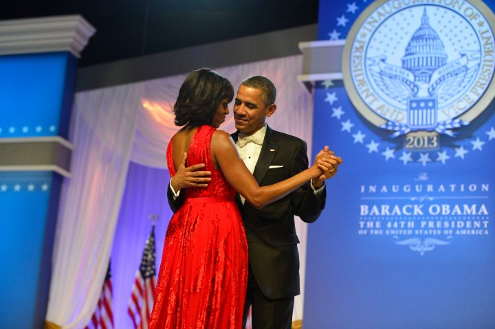 Two kids and two presidential terms later, the pair is still in love.