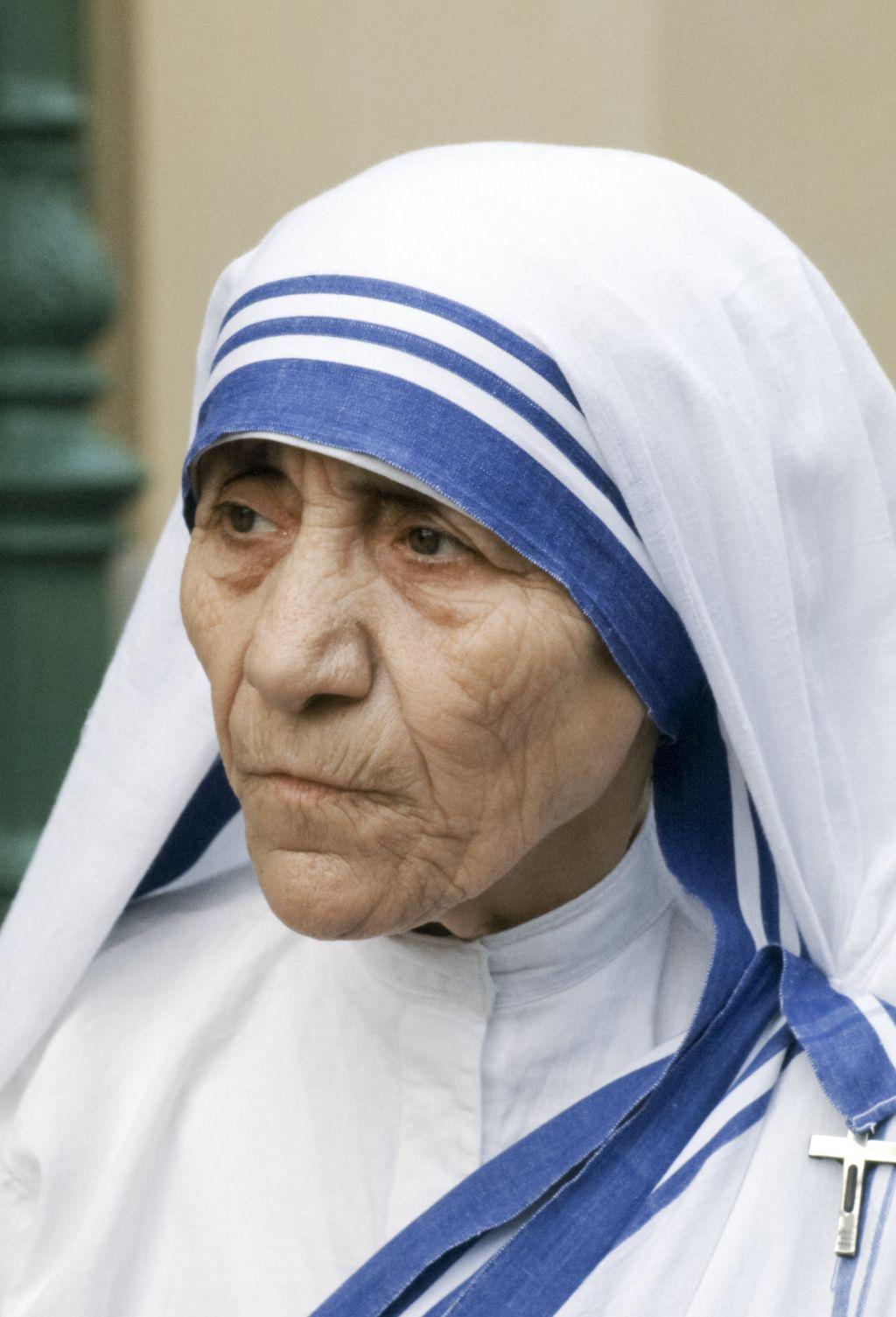 Mother Teresa in Calcutta, India