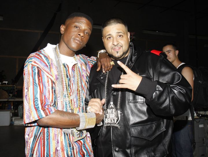 Khaled and Boosie in '08.