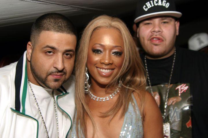 Khaled, Trina, and Fat Joe in 2006.
