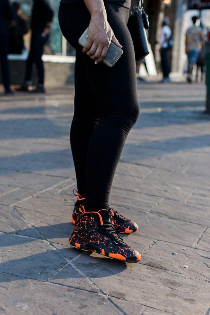 "Nike Foamposite ""Lava"""