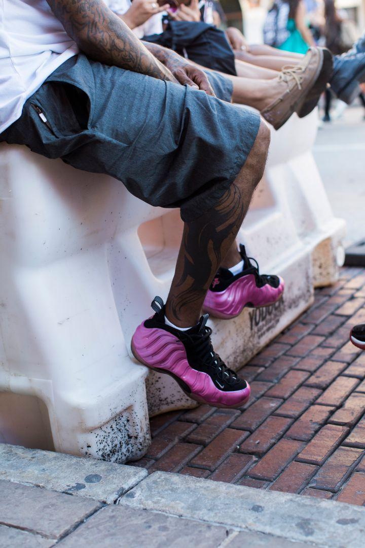 "Nike Foamposite ""Polarized Pink"""