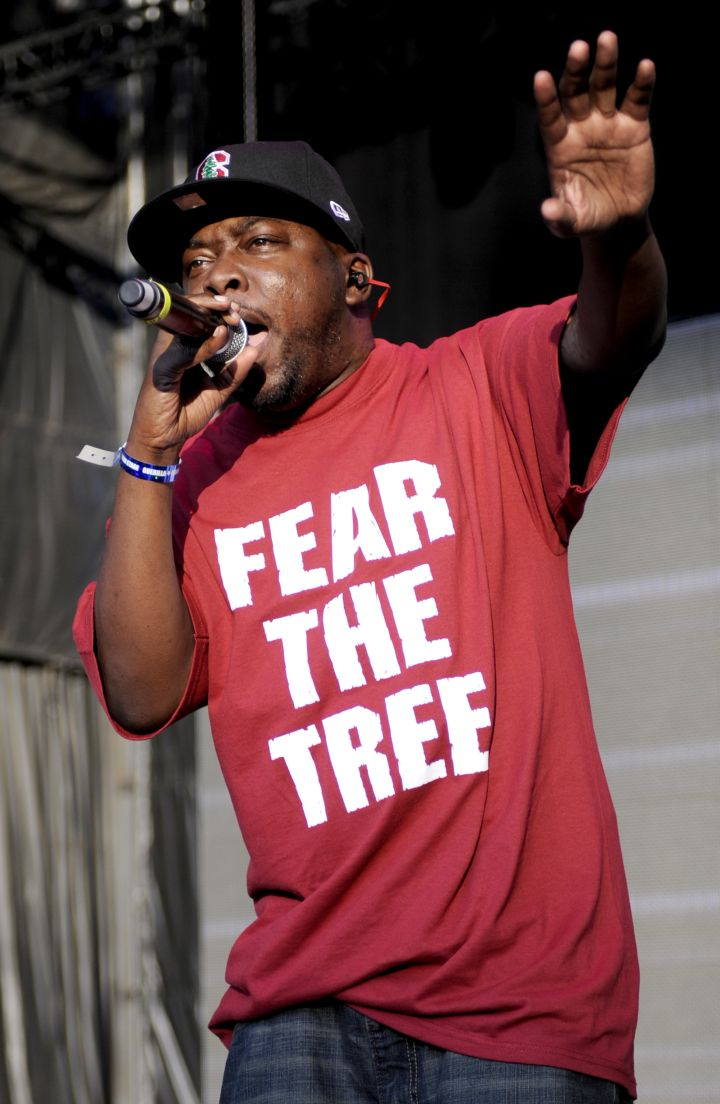 Phife Dawg of A Tribe Called Quest performs as part of Rock the Bells 2010 at Shoreline Amphitheatre on August 22, 2010 in Mountain View, California.