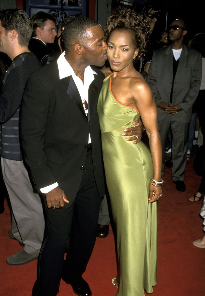 Angela Bassett and Courtney B. Vance met while students at the Yale School of Drama.