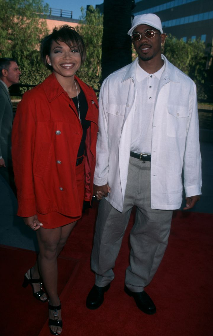 """Tisha Campbell and Duane Martin met in 1990 at an audition for the TV pilot """"Moe's World"""" and hit it off immediately."""
