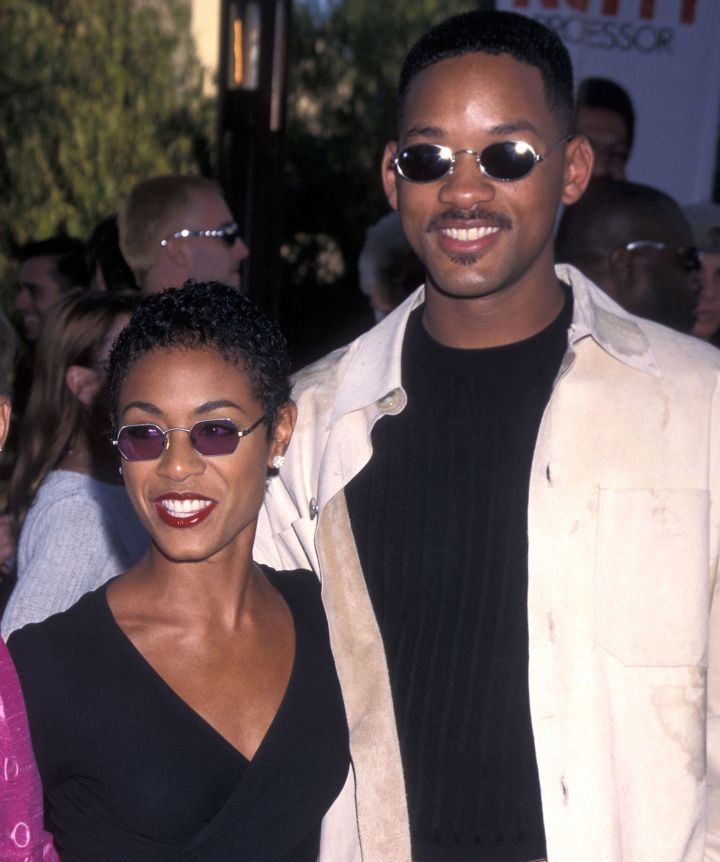 """Everyone's favorite '90s couple, Will and Jada Smith, met on the set of his television show """"The Fresh Prince of Bel-Air"""" when she auditioned for the role of his character's girlfriend."""