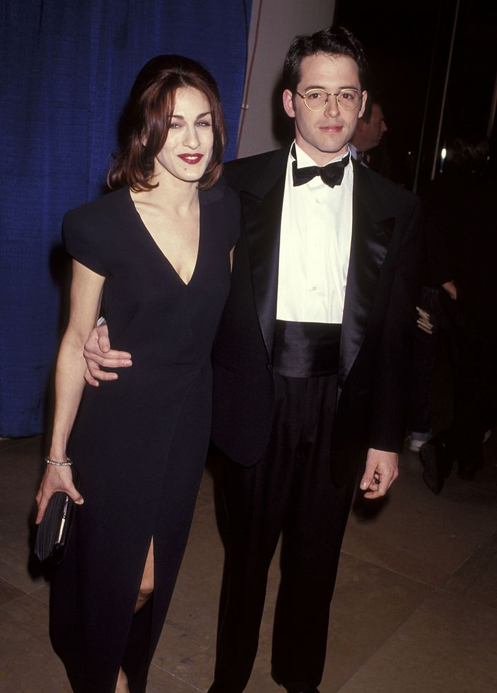 Sarah Jessica Parker and Matther Broderick tied the knot in 1997 after being introduced by Matthew's brother.