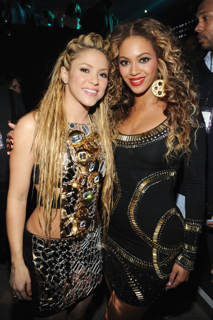 Shakira and Beyonce's hips don't lie.