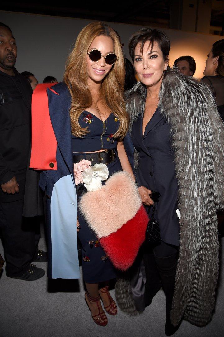 Beyonce and Kris Jenner.