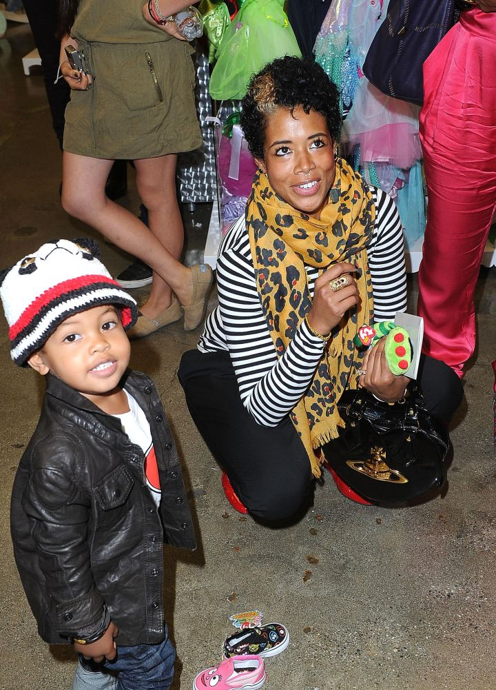 Knight Jones, the son of Kelis and Nas, is beyond adorable!