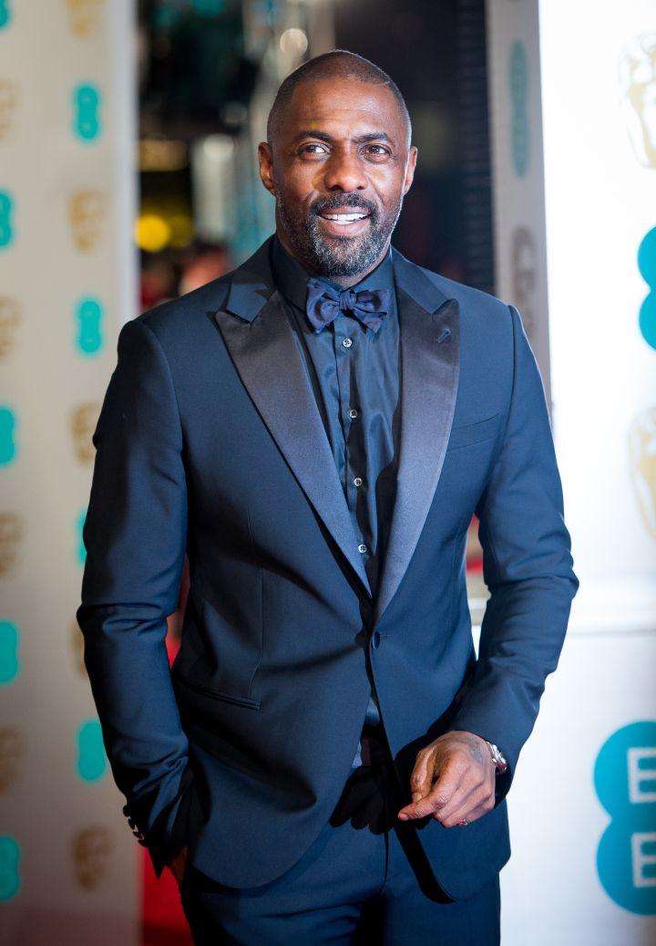 Idris Elba and Sonya Hamlin