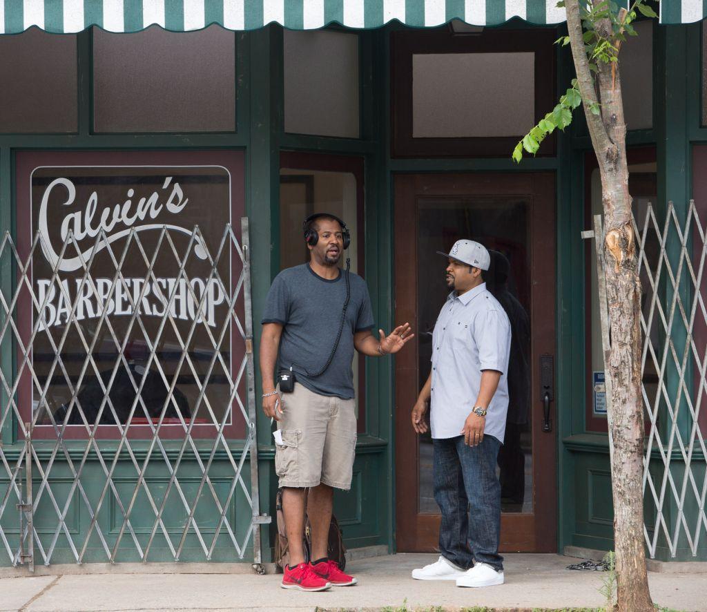 Eve, Ice Cube, Malcolm D Lee, Barbershop 3