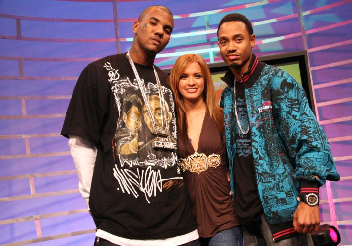 Rocsi & Terrence J kick it with a young Game.