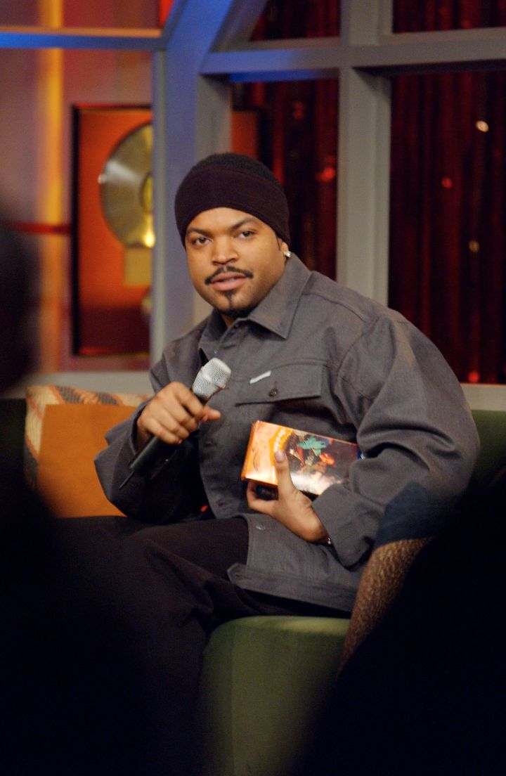 """Ice Cube showed up for every """"Barbershop"""" premiere."""