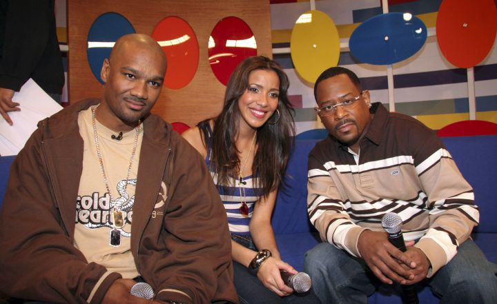 Funny man Martin Lawrence was in high demand.