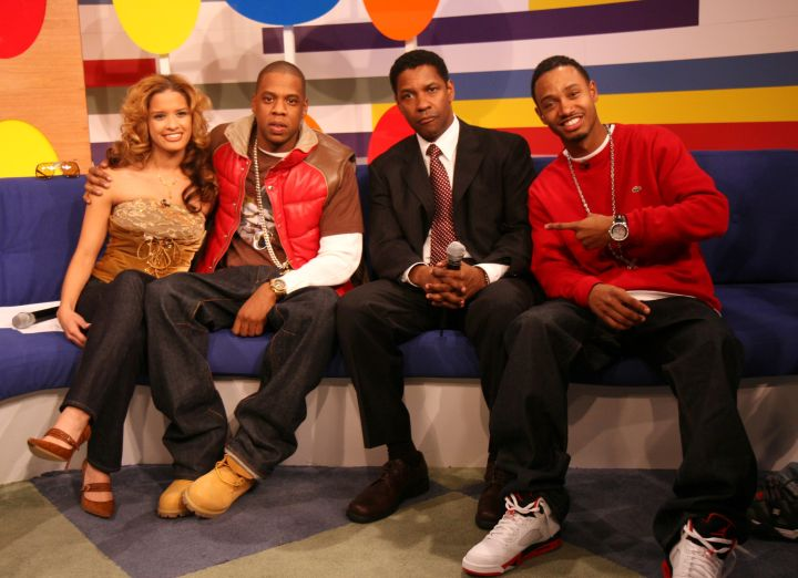 New York's own Denzel Washington and Jay Z graced the couch.