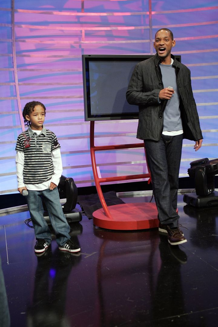 Will Smith introduced a young Jaden to the world back in 2006.
