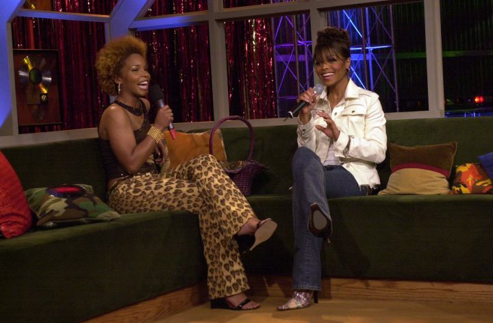 Janet Jackson even got the hosts excited when she came.