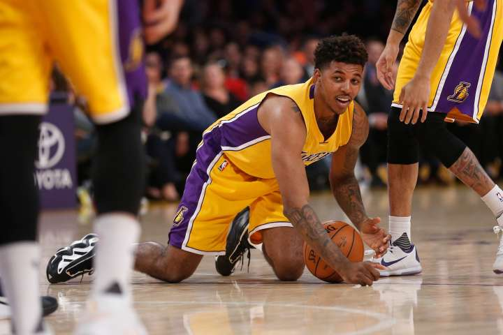 Nick Young Gets Put on Blast by D'Angelo Russell