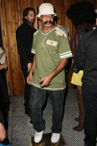Drake's father Dennis Graham