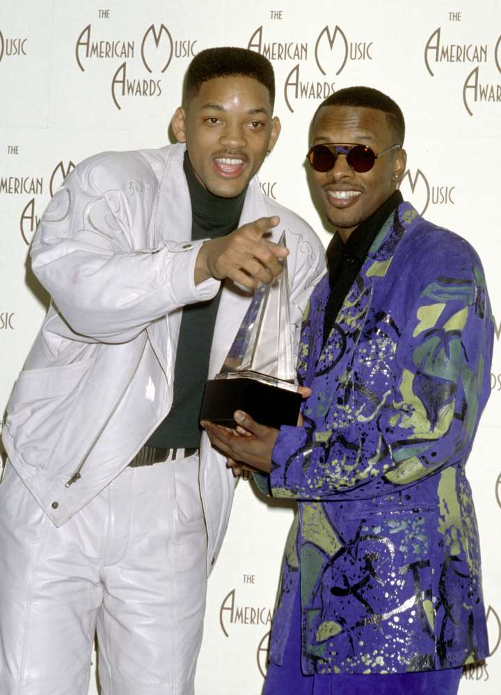 Will and Jazzy Jeff win an American Music Award