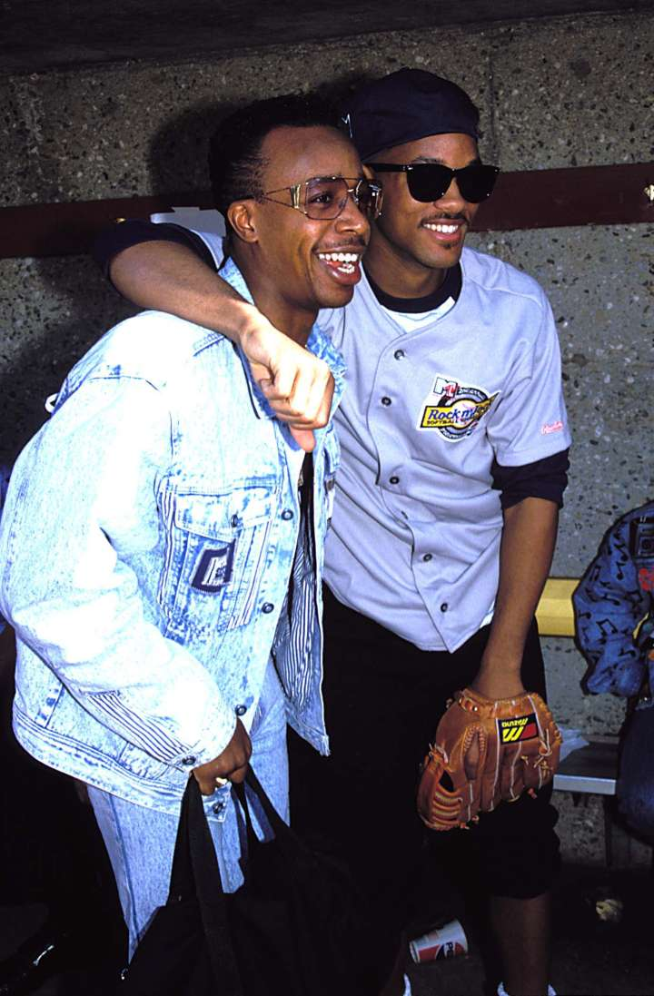 Will Smith and MC Hammer