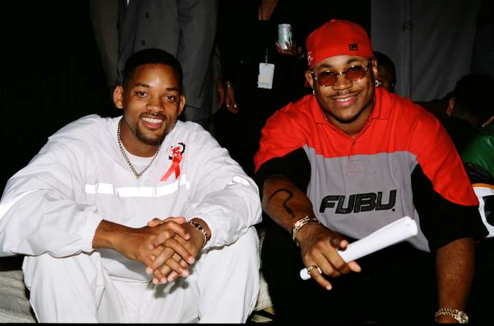 Will Smith and LL Cool J (you know it's the 90s when you see Fubu!)