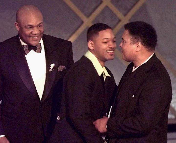 Will Smith and Muhammad Ali