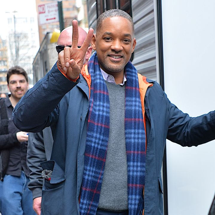 "Will Smith on the set of ""Collateral Beauty"" in 2016"