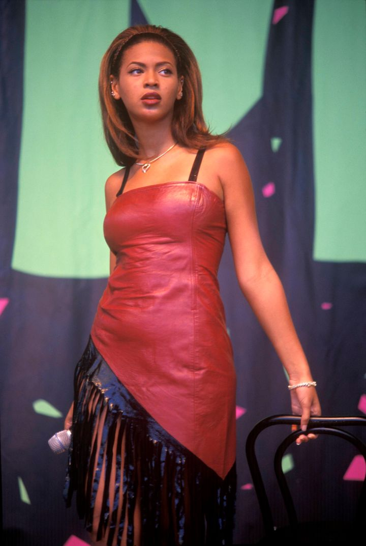 Young Beyonce in 1998