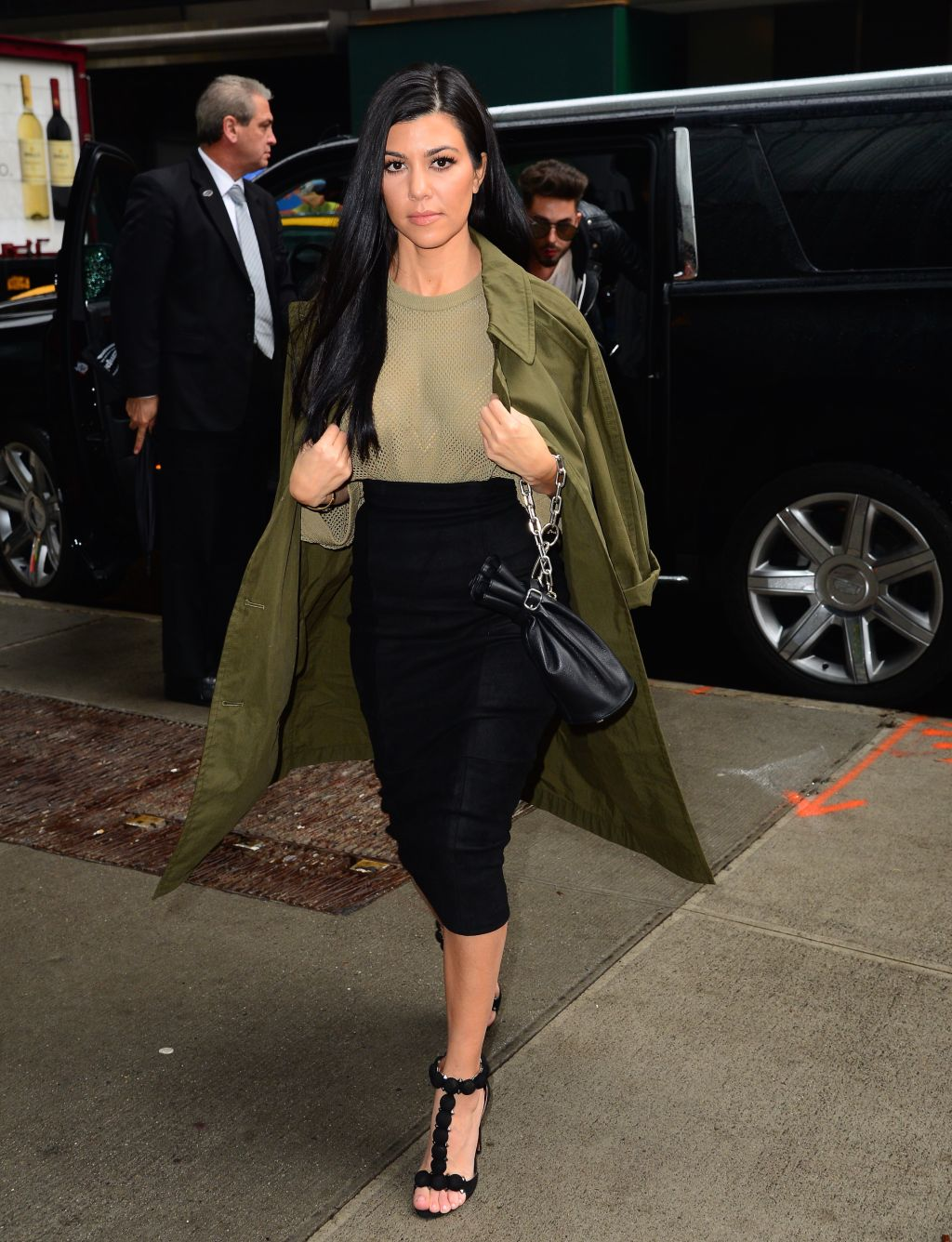 Celebrity Sightings in New York City - April 12, 2016