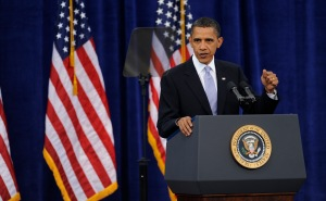 President Obama Speaks At Carnegie Mellon University