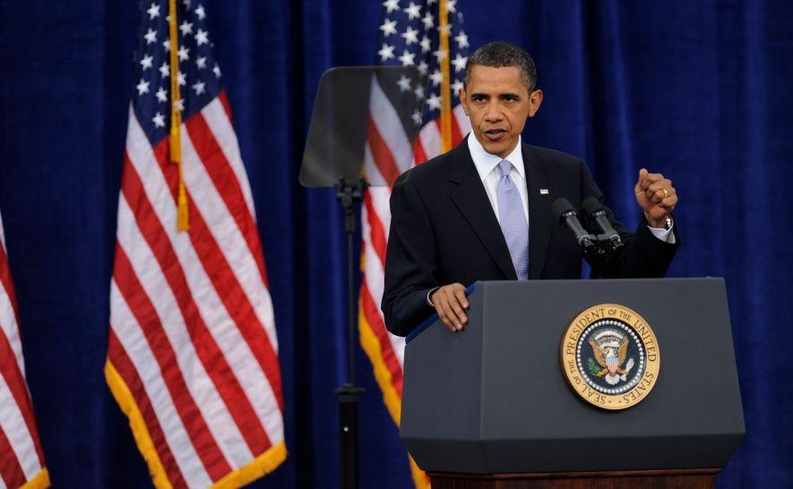 President Obama Speaks At Carnegie Mellon University