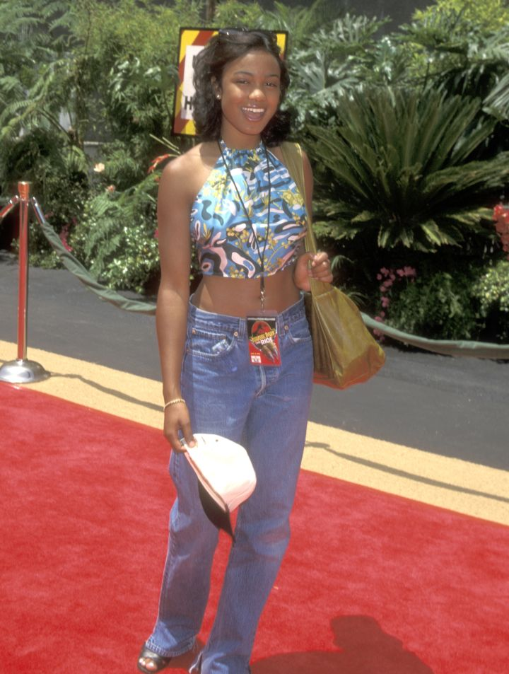Tatyana shows off her '90s style in '96.