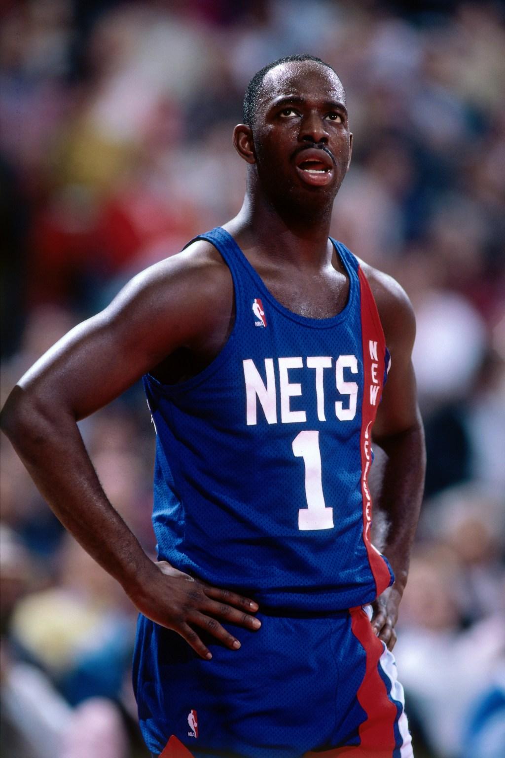 New Jersey Nets v Portland Trail Blazers