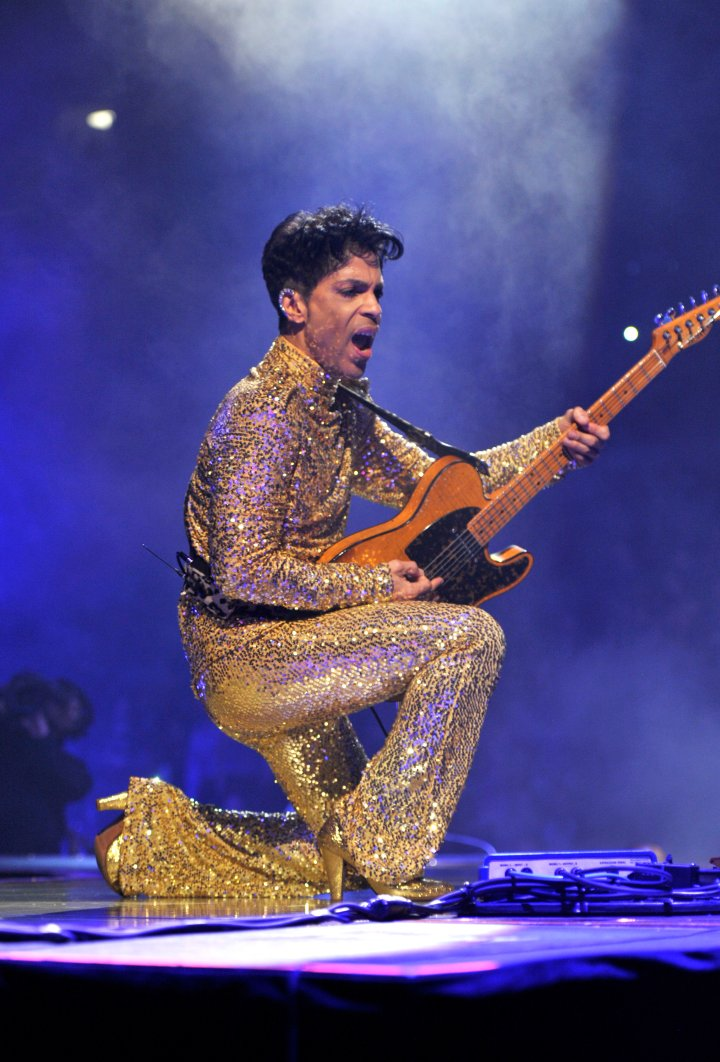Prince never shied away from sparkle, and we loved it.