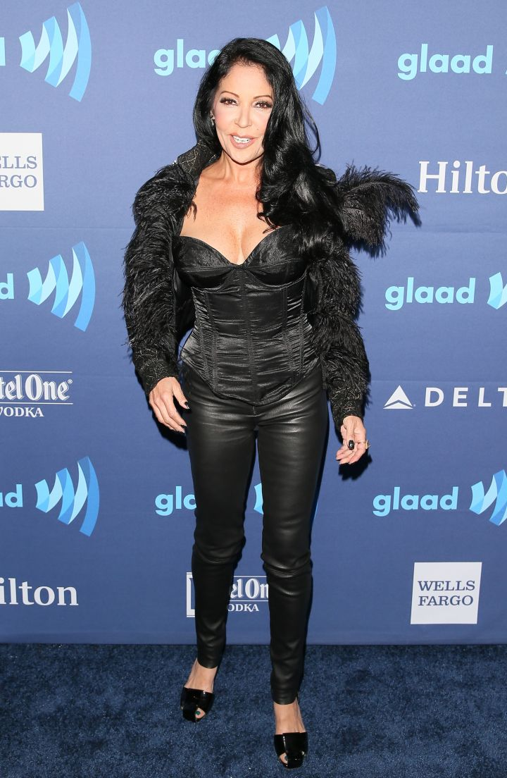 Apollonia Slaying The Glaad Red Carpet.