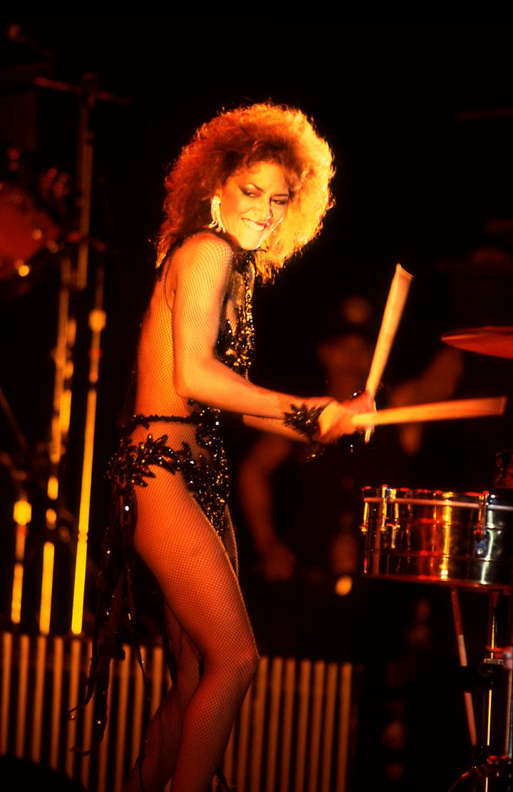 Singer and percussionist Sheila E shot to stardom after working with Prince during the 'Purple Rain' era.