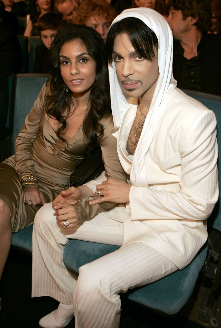 Manuela Testolini was married to Prince from 2001 to 2006.