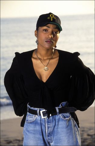 Nona Gaye At M.I.D.E.M 93 In Cannes, France On January 28, 1993.