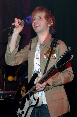 Beck in Concert at New York City's Hiro Ballroom - April 15, 2005