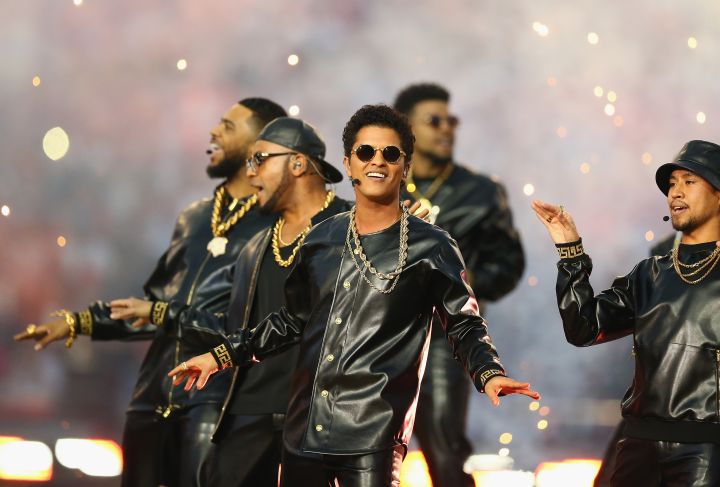 Bruno Mars has called Prince one of his heroes and has paid tribute to The Purple One a number of times