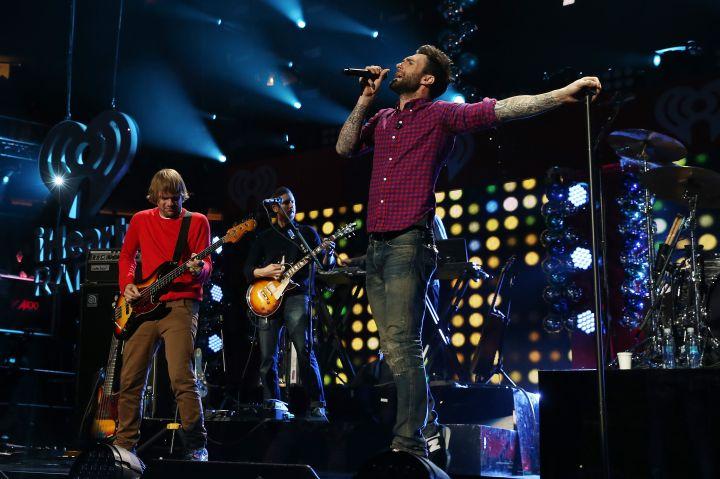 "Maroon 5 has covered Prince's ""Purple Rain"""