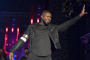 Usher performs at Mawazine International Music Festival