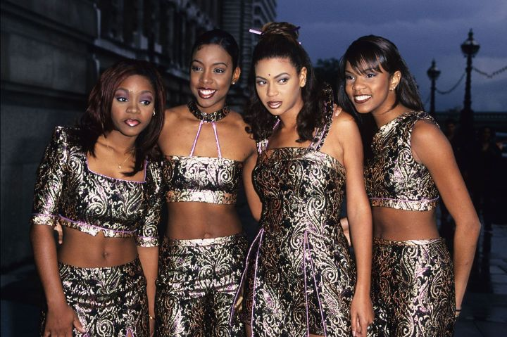 Beyonce and the original line up of Destiny's Child