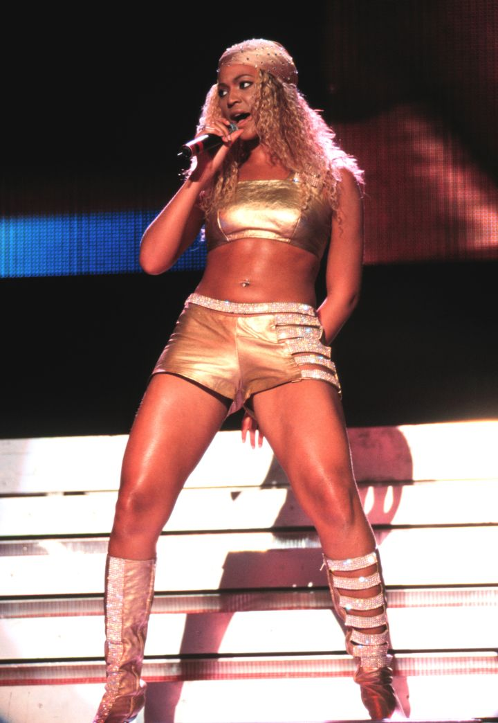 Beyonce starts wear more risqué outfits