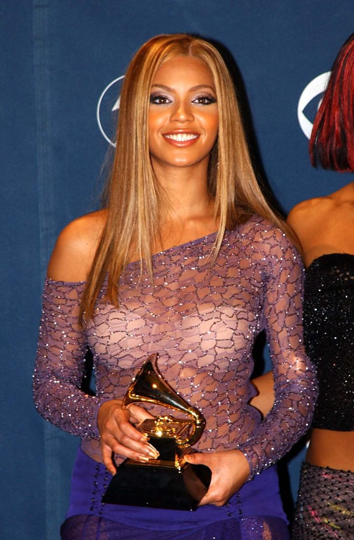 Bey at the Grammys