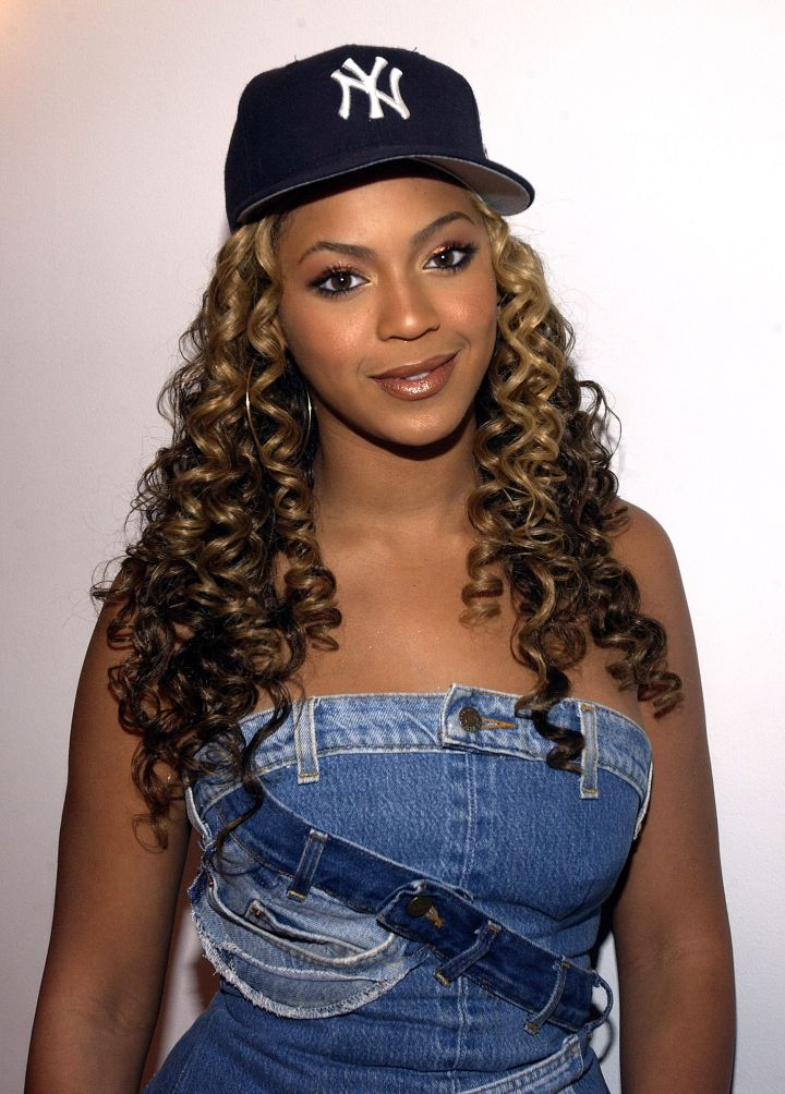 You girl Bey is a cutie in a baseball hat