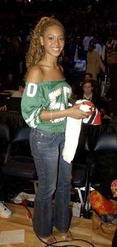 Celebrites at the 2003 NBA All-Star Game