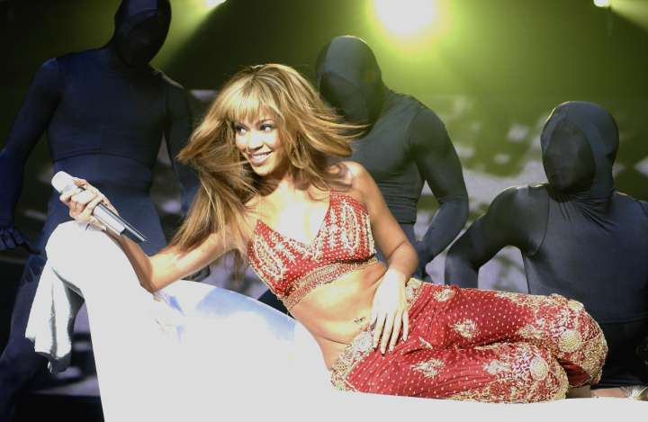 Beyonce Knowles Performing At Wembley Arena, London, Britain - 10 Nov 2003